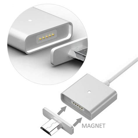 Magnetic Micro Usb Cable Kabel Data Magnet portplugs magnetic micro usb charging cable