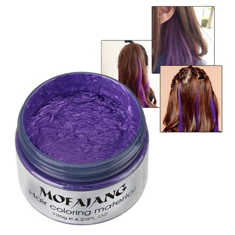 hair coloring products 7 colors hair wax hubee dye hairstyle