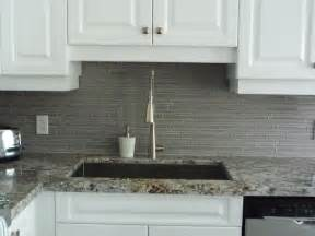 Glass Kitchen Tile Backsplash Kitchen Remodeling Glass Backsplash Granite Counter Http Www Keramin Ca Traditional