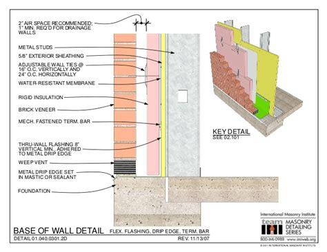 How To Install A Bow Window masonry detailing series v 3 4