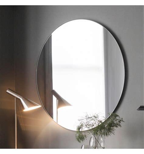 hayle  black modern mirror   cm