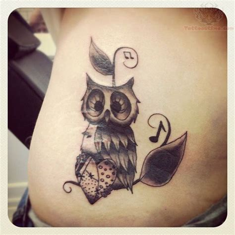owl tattoo protection music note tattoo patterns owl and music notes tattoo
