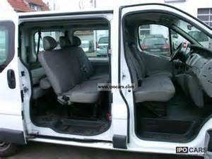 Renault Trafic Seats 2007 Renault Trafic 2 0 Dci 9 Seats Climate Car Photo