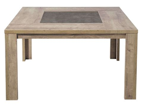 table salle a manger carree 140x140 table carree 8 personnes conforama