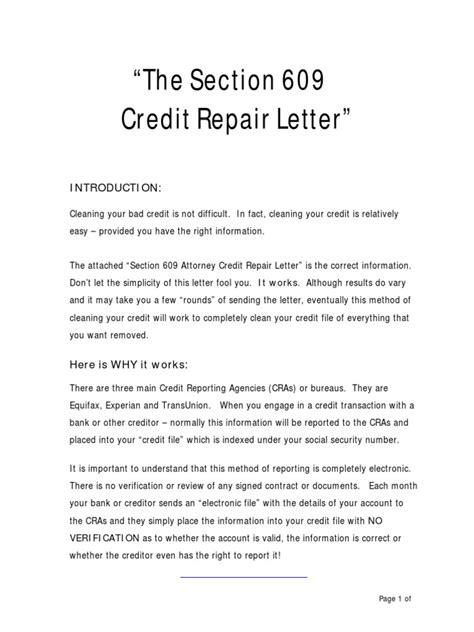 Original Credit Letter credit repair letter credit history credit bureau