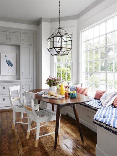 bay window banquette contemporary kitchen hgtv