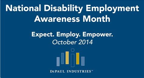 national month october is national disability employment awareness month