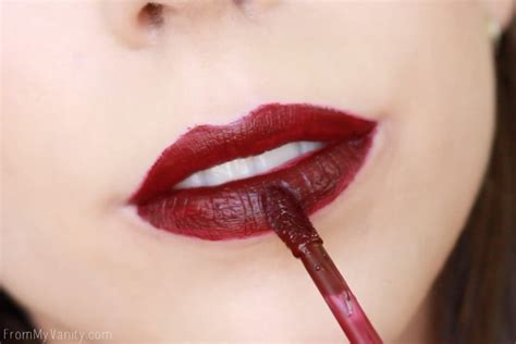 Lipstik Viodi n liquid catsuit matte lipsticks swatches review from my vanity