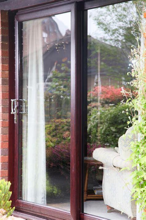 Patio Doors Made To Measure Rosewood Sliding Patio Doors 2 Pane Upvc