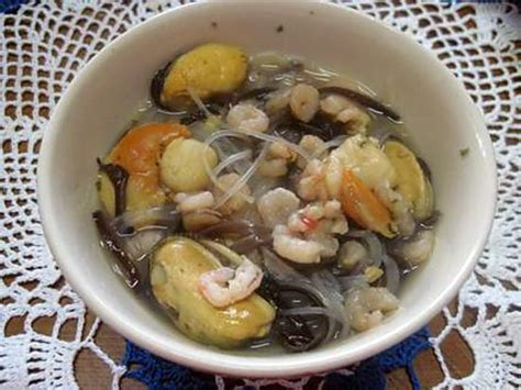 cuisiner noix de jacques surgel馥s recette de vermicelles chinois aux chignons noirs et