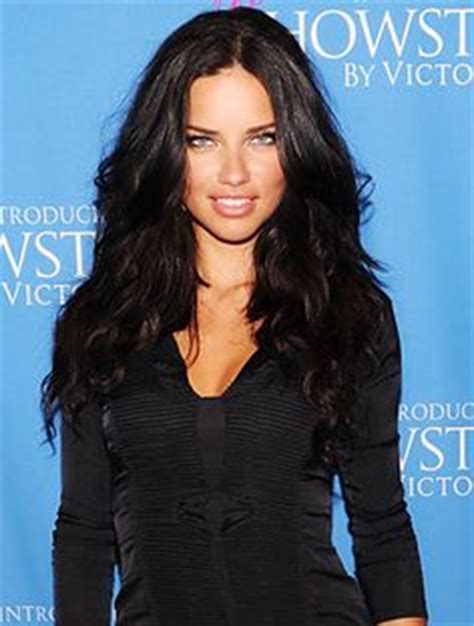 adriana lima s hair layers and soft balayage petit site of star fabulous victoria secret hair hair