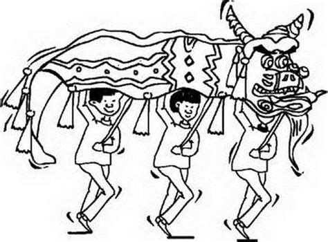 dragon family coloring page chinese dragon boat festival coloring pages family