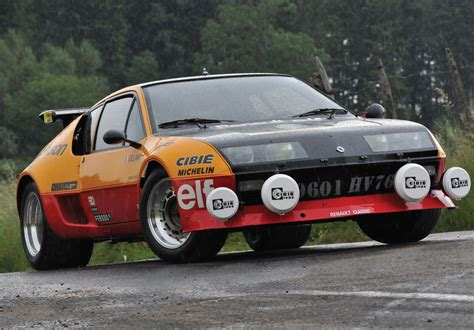 renault alpine a310 rally 1976 1984 renault alpine group b renault supercars net
