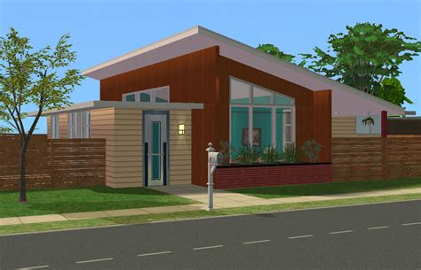 sims 2 house downloads mod the sims 1952 mid century modern the belville