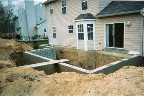 home addition with basement adding a basement basements ideas