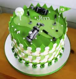 Golf Cake Decorations Golf Themed Birthday Cake 70th Birthday Bash Pinterest