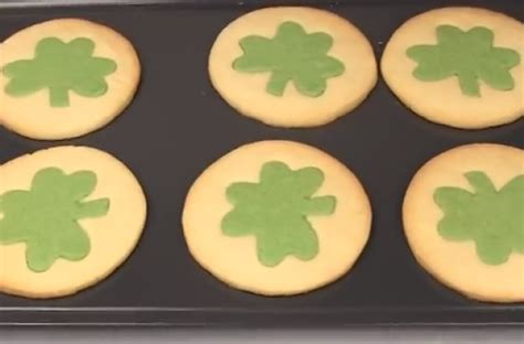foodista copycat recipe pillsbury shamrock shape sugar
