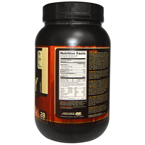 Whey Optimum Nutrition optimum nutrition gold standard 100 whey whey protein isolate cake donut 2 lb 907 g