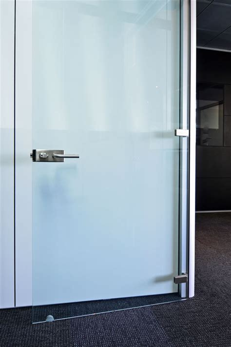 Hinged Glass Doors Frameless Hinged Glass Doors For Modular Office Wall Partitions Dividers