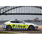 Porsche Panamera Joins NSW Police  Photos