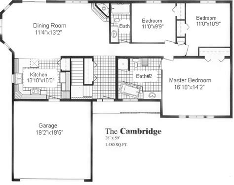 cambridge homes floor plans cambridge sea hawk homes
