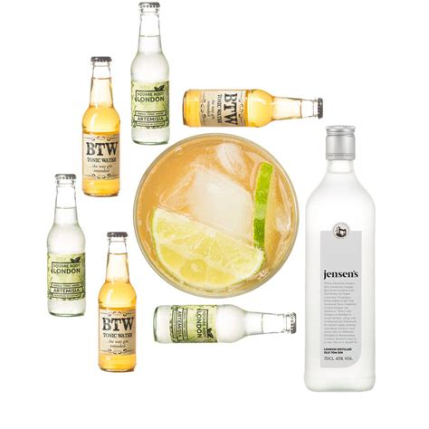 gin and tonic gift set by craved notonthehighstreet com