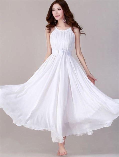 Sundress Wedding Dress by White Evening Wedding Dress Lightweight