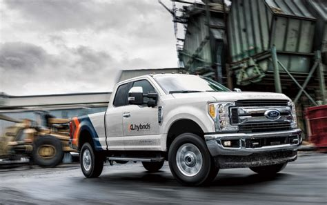 ford electric truck xl hybrids adds ford f 250 hybrid to f 150 in hybrid