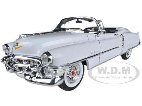 1953 Cadillac Eldorado Skala 1 24 Welly Diecast Miniatur 1953 cadillac eldorado convertible white 1 24 diecast car model by welly 14 99 diecast cars