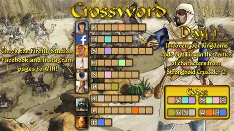 Stronghold Kingdoms Giveaway - crossword giveaway stronghold kingdoms strategy