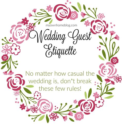 Wedding Etiquette by Wedding Guest Etiquette Because Common Sense Isn T So