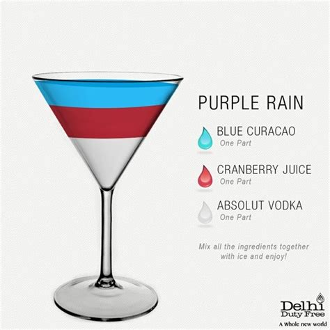 purple martini recipe purple rain cocktail ddf bartender pinterest