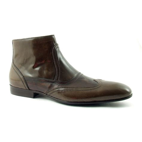 find mens patent leather boots cool style at gucinari