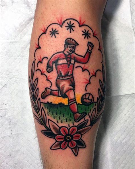 old school tattoo newcastle 90 soccer tattoos for men sporting ink design ideas