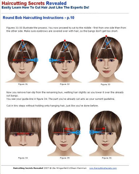 hoq to cut hair lady haircutting secrets revealed gallery sle ebook pages