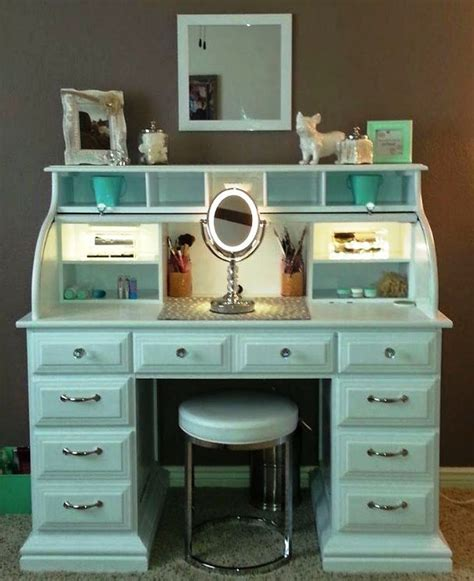 White Small Makeup Desks Finding Desk