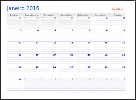 Calendario Semanal 2016 Valeu Cara Calend 225 2016
