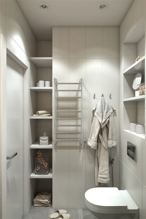 apartment bathroom storage ideas 2 small apartment with modern minimalist interior design roohome designs plans