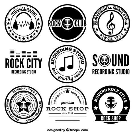 insignias de m 250 sica rock descargar vectores gratis