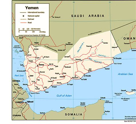map of yemen yemen maps