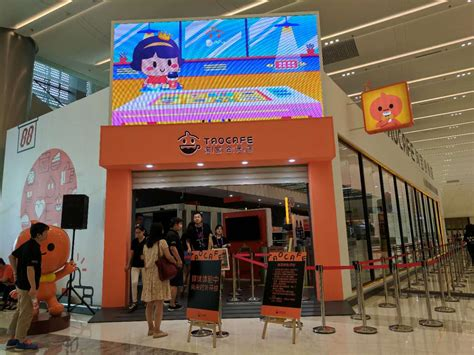 alibaba mall alibaba unveils staff less tao cafe and smart speaker to
