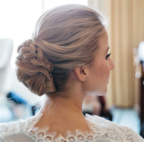 Wedding Hair Updo With Braids by Braided Hairstyles 5 Ideas For Your Wedding Look Inside