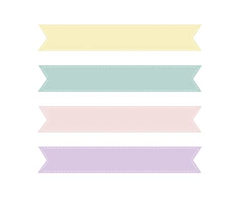 calligraphy ribbon banner labels printables pinterest loveration freebies cute pastel banner clip art craft
