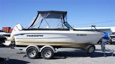 triumph boats reviews triumph boats 191br 2011 used boat for sale in varennes