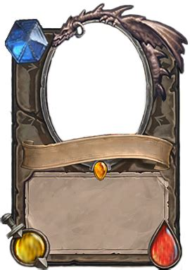 legendary card template neutral legendary empty card by demaretc on deviantart