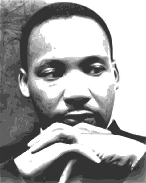mlk clipart martin luther king jr clip at clker vector clip