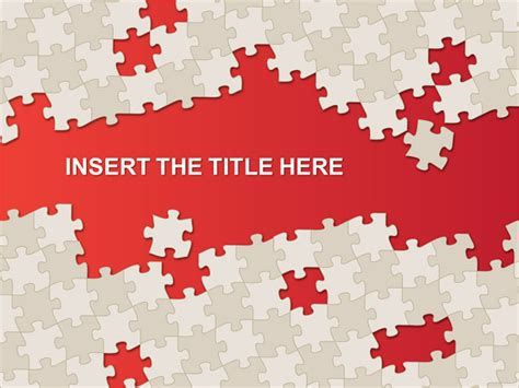 puzzle powerpoint template puzzle template for powerpoint and impress