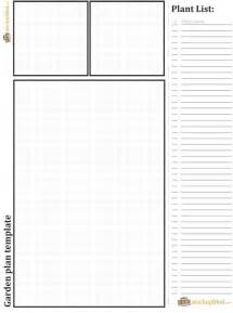 Garden Layout Template Garden Plans And Template Pdf