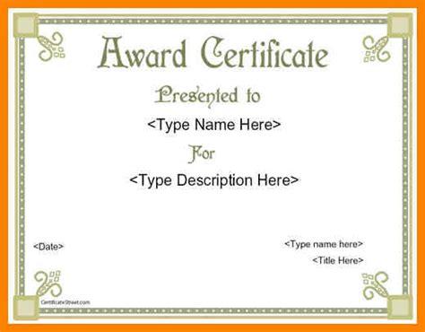 8 award certificates templates word dialysis nurse