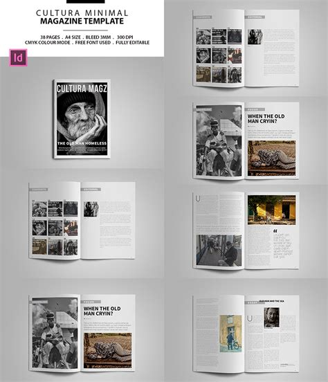 magazine layout templates free 20 magazine templates with creative print layout designs